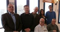 מימין: גיא ורון, אושרת נגר-לויט, עידן אבני, רובי המרשלג, איתי אשל, יאיר קראוס, דני ברנר