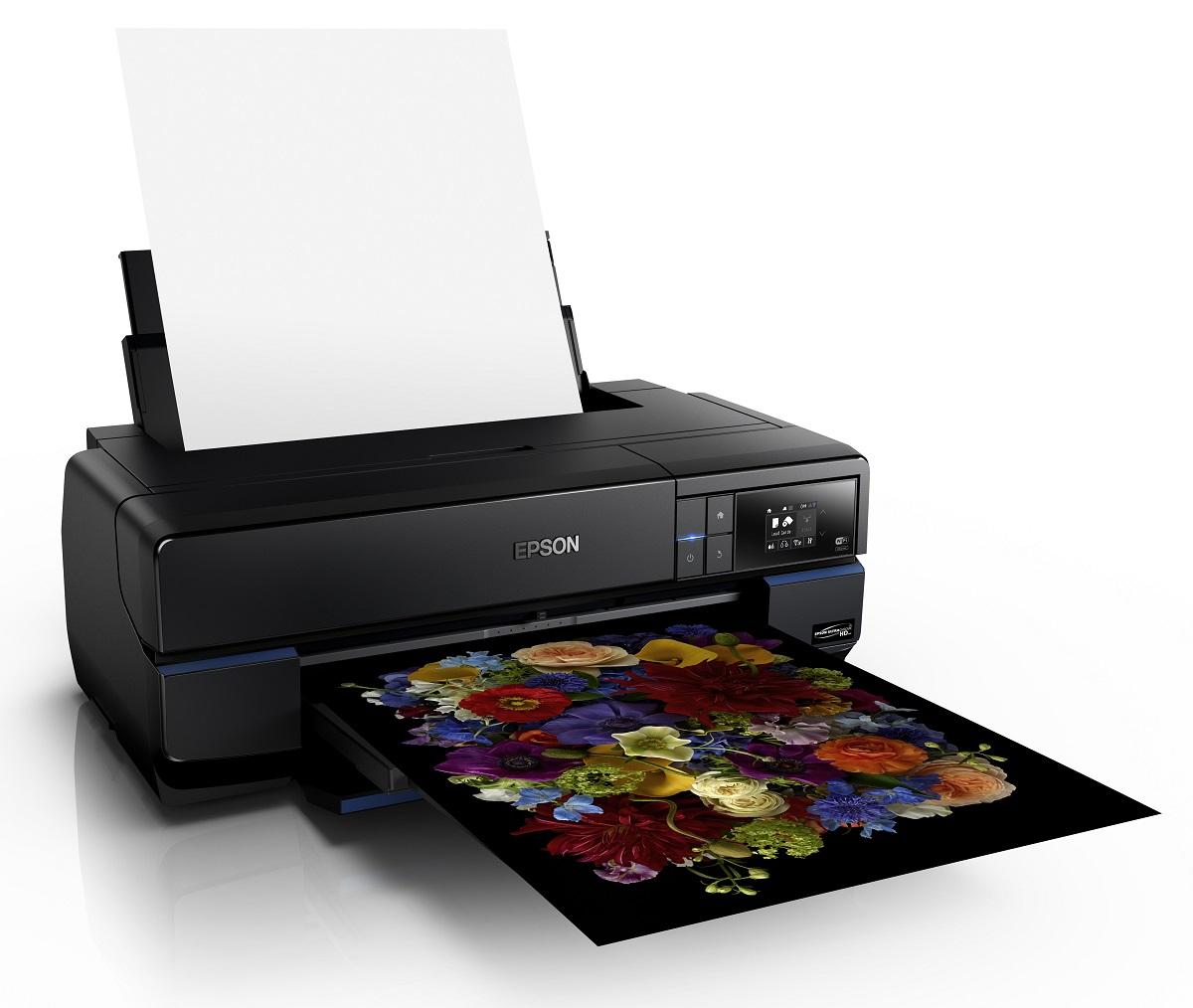 אפסון תשיק בתערוכת Isprint 2015 מדפסות פוטו מקצועיות, מדפסות